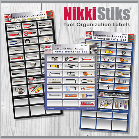 Tool Organization Labels by NikkiStiks®