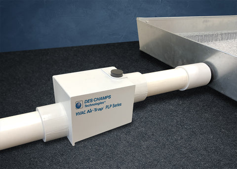 "Des Champs PLP-Series Air-Trap: Positive Pressures Ranging from 0 to 40"" WC"