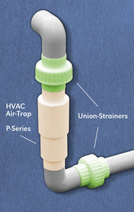 Union-Strainer™ - Unions with Built-in Strainer