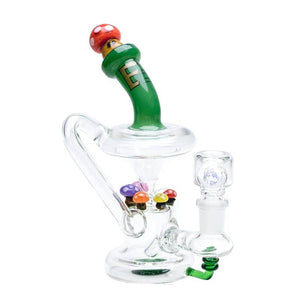 Empire Glassworks - Recycler Mini Rig - Mushroom