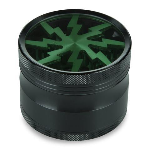 Thorinder 4 Piece Herb Grinder Green