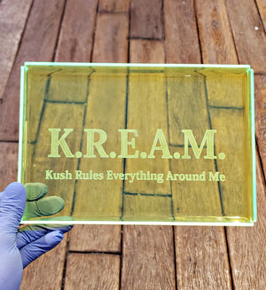 Kream rolling tray