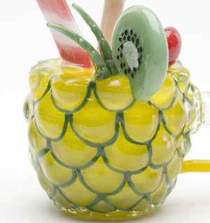 Empire Glassworks - Mini Rig - Pineapple Paradise