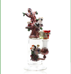 Empire Glassworks - Mini Rig - Hootie's Tree