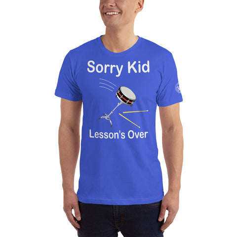Sorry Kid, Lesson's Over - Royal Blue T-Shirt