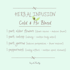 Cold & Flu Herbal Tea Infusion