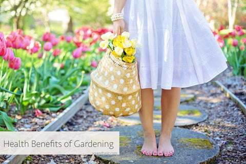8 Health Benefits of Gardening at Home