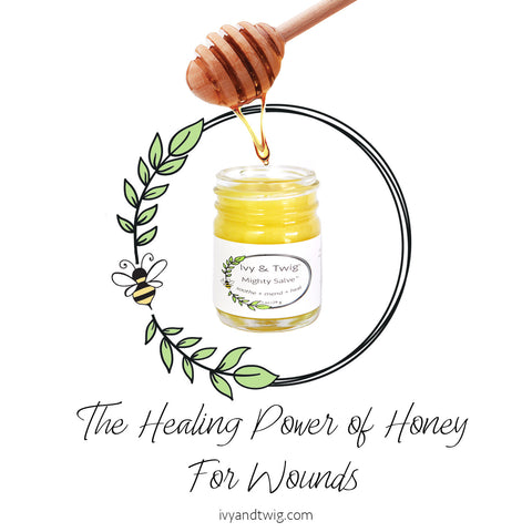 Healing Wounds With Raw Honey