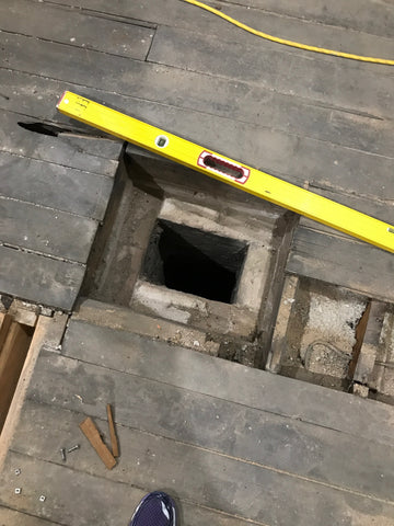 Attic Chimney Removal