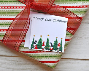 CHRISTMAS GIFT ENCLOSURE CARDS AND ENVELOPE SET