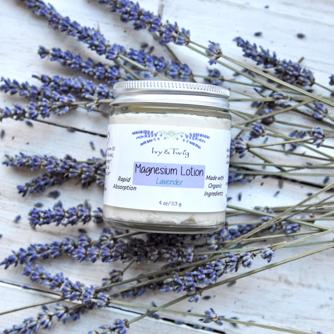 LAVENDER MAGNESIUM WHIPPED LOTION