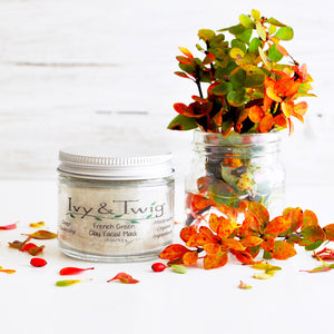 Organic French Green Clay Facial Mask Vegan