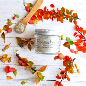 Organic French Green Clay Face Mask Vegan