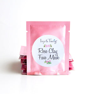 ROSE CLAY FACE MASK TRAVEL SIZE