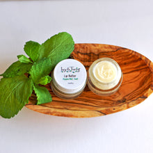 Load image into Gallery viewer, Organic Whipped Peppermint Lip Balm Butter