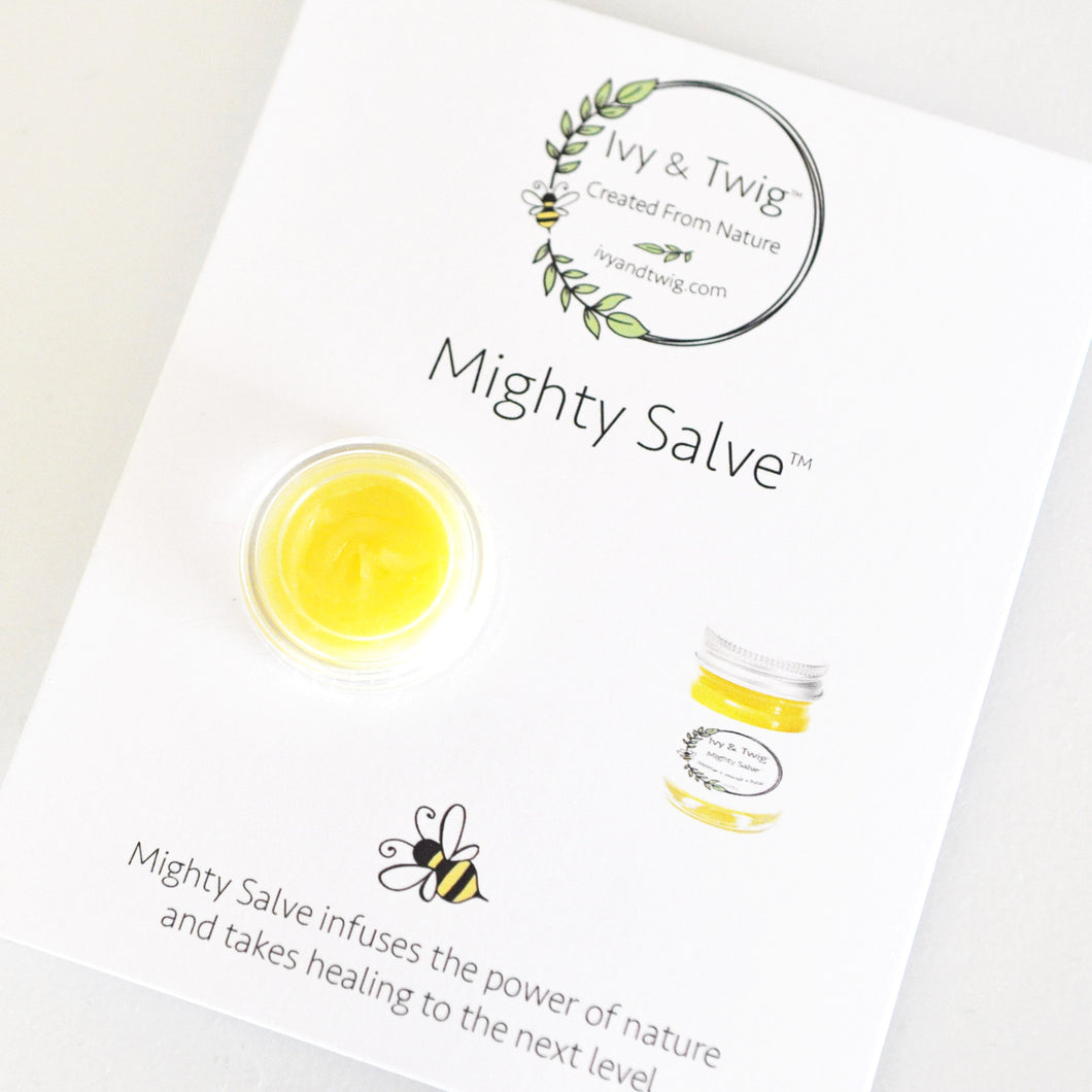 MIGHTY SALVE™ ~ SAMPLE SIZE