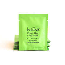 Load image into Gallery viewer, Vegan Mini Size French Clay Facial Mask Organic Ingredients