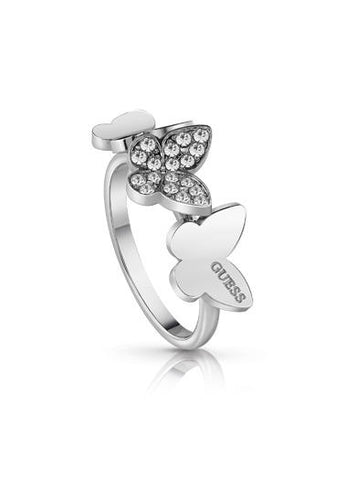 Anillo Plateado Guess Jewellery
