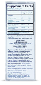 LypriCel Magnesium L-Threonate - 30 Packets, 0.2 fl oz (6 ml) Each