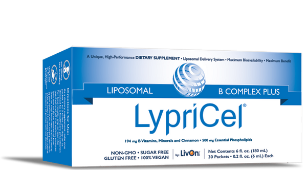 LypriCel Liposomal B Complex Plus – 30 Packets, (194 mg) Each