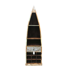 Cinca Recycled Showcase with Wine Rack