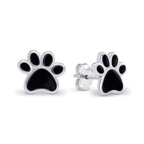 Paw Print Earrings - Sidestreet