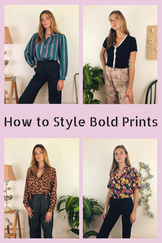 How to style bold prints and how to dress classy and stylish. Tips and tricks on how to be pretty with fashion