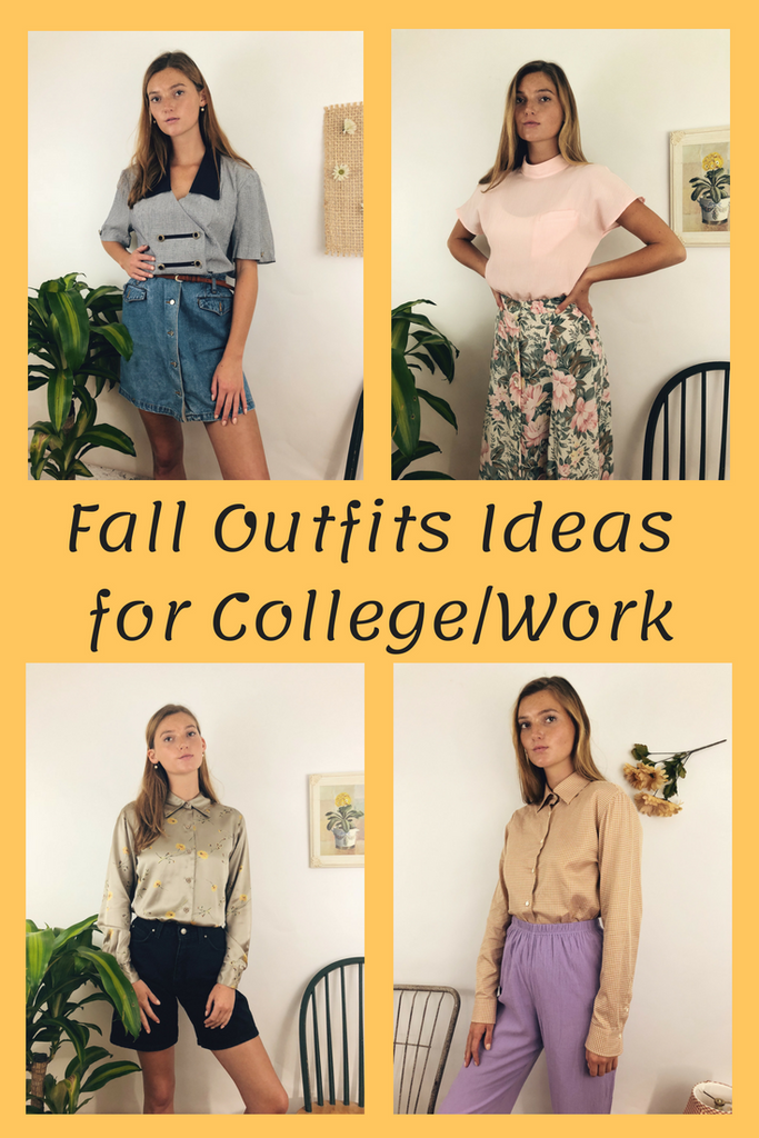 Fall Outfit Ideas for College