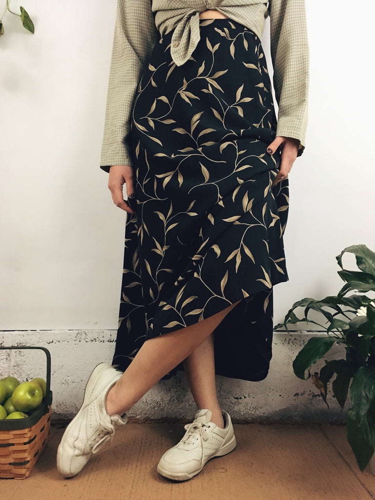 The Leafy Lisa Midi Skirt (4)