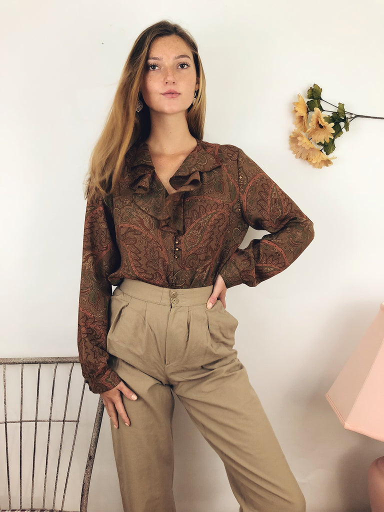 Renaissance Ruffled Top