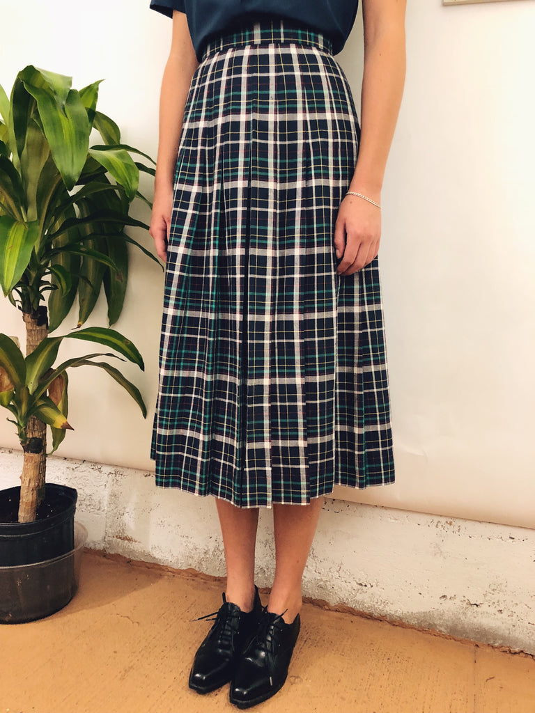 Pleated 80s Midi Skirt (24/25)