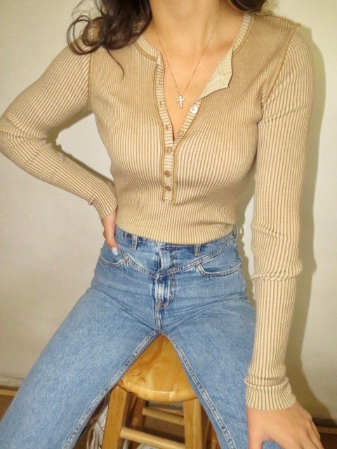 Vintage Escada Coffee Knit (S-M)