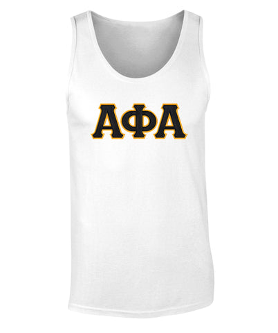 Alpha Phi AlphaTwill Letter Tank Top