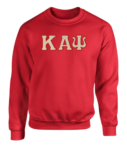 Kappa Alpha Psi Twill Letter Long Sleeve Tee