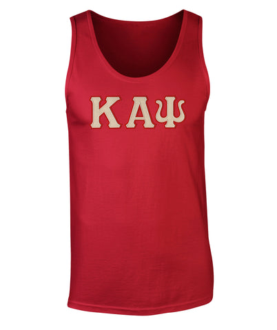Kappa Alpha Psi Twill Letter Tank Top