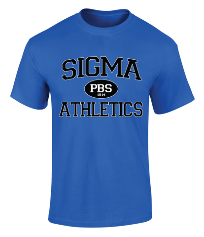 Phi Beta Sigma PBS Athletic T Shirt