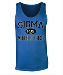Phi Beta Sigma PBS Athletic Tank Top