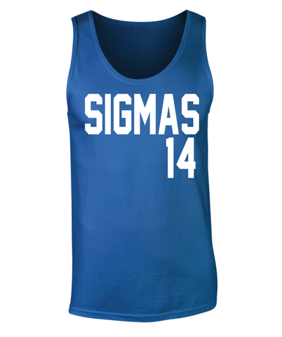 Phi Beta Sigma Sigmas 14 Tank Top