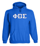 Phi Beta Sigma Twill Letter Hoody