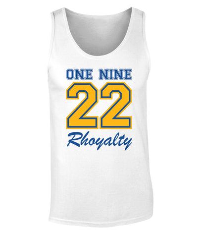 Sigma Gamma Rho One Nine 22 Graphic Print Tank Top