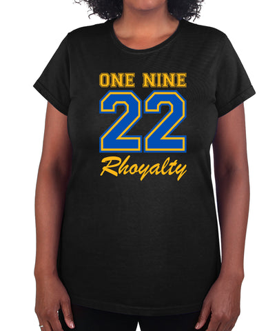 Sigma Gamma Rho One Nine 22 Graphic Print T Shirt Premium Collection