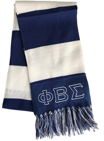 Phi Beta Sigma Fraternity Mens Scarf