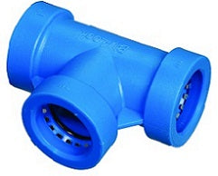 "Blu-Lock Lateral Piping Fitting-3/4"" BL Tee"