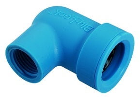 "Blu-Lock Lateral Pipe Fitting- 3/4"" BL x 1/2"" Fipt Ell"