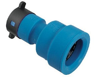 "Blu-Lock Lateral Pipe Fitting- 3/4"" BL x 1/2"" BLR Coupling"