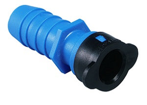 "1"" Blu-Lock Lateral Pipe Fitting- 1"" Insert x 1/2"" BLR Adapter"