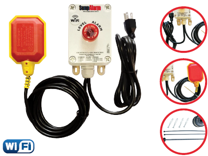 Sump Alarm - High Water Alarm (Wi-Fi)