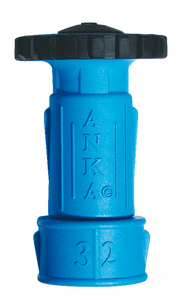 "ANKA 1 1/4"" Large Wash Down Nozzle with Hose Tail"