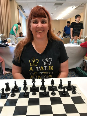 Chess Mom to Playing in the World Open