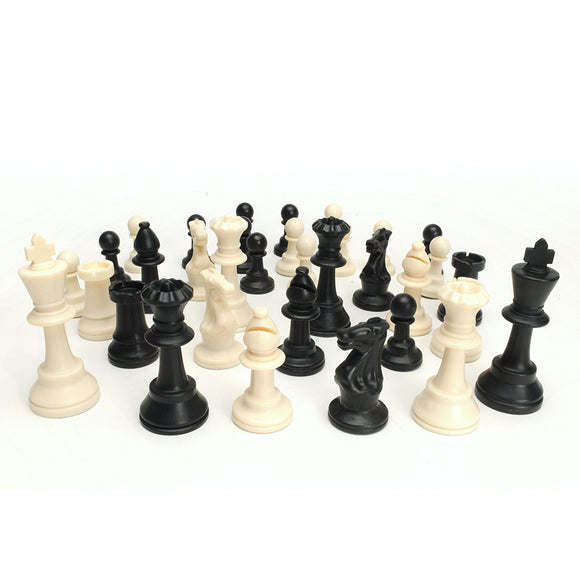 Traditional Tournament Chess Pieces